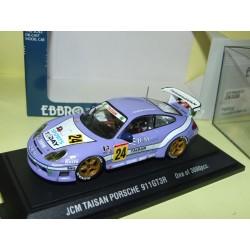 PORSCHE 911 GT3R N°24 JCM TAISAN EBBRO 230 1:43