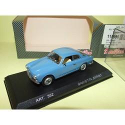ALFA ROMEO SPRINT 1960 COUPE Bleu DETAILCARS 462 1:43