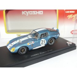 SHELBY COBRA DAYTONA COUPE N°21 GP JAPON 1966 KYOSHO 1:43