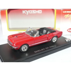 SHELBY GT-350 CONVERTIBLE Rouge KYOSHO 1:43