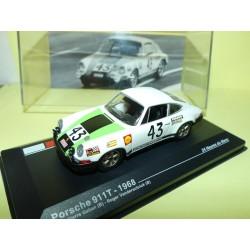 PORSCHE 911 TURBO N°43 LE MANS 1968 ALTAYA 1:43 Arrivée 12ème