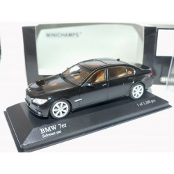 BMW SERIE 7 F02 2008 Noir MINICHMAPS 1:43