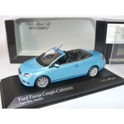 FORD FOCUS CABRIOLET II Phase 1 2007 Bleu MINICHAMPS 1:43