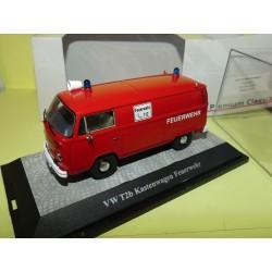 VW COMBI T2b KASTENWAGEN FEUERWEHR Pompiers allemands PREMIUM CLASSIXXS 1:43