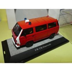 VW COMBI T3b FEUERWEHR Pompiers allemands PREMIUM CLASSIXXS 1:43