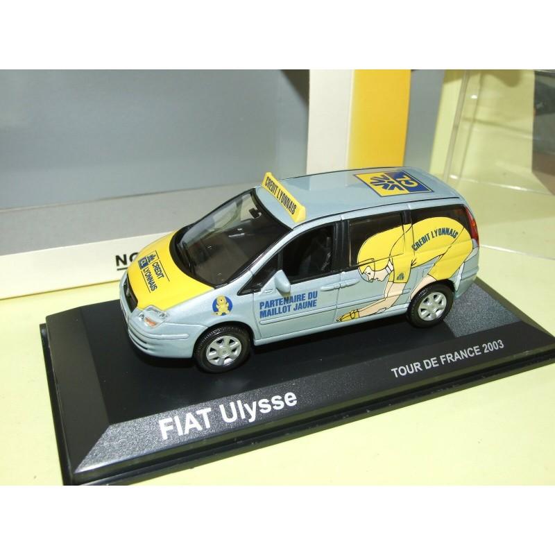 FIAT ULYSSE Crédit Lyonnais Tour De France 2003 NOREV 1:43