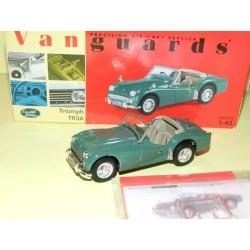 TRIUMPH TR3 Vert VANGUARDS VA08606 1:43