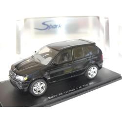 BMW X5 E53 Noir SPARK 1:43