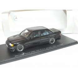 MERCEDES AMG 300 E 5.6 W124 THE HAMMER Noir SPARK 1:43