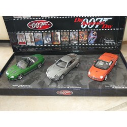 ASTON MARTIN FORD 03 JAGUAR XKR JAMES BOND 40Th ANNIVERSARY MINICHAMPS 1:43