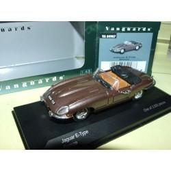 JAGUAR TYPE E Cabriolet Bronze VANGUARDS V04907 1:43