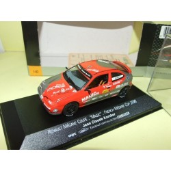 RENAULT MEGANE FRENCH MEGANE CUP 1998 KAMBER ONYX XCL99008 1:43