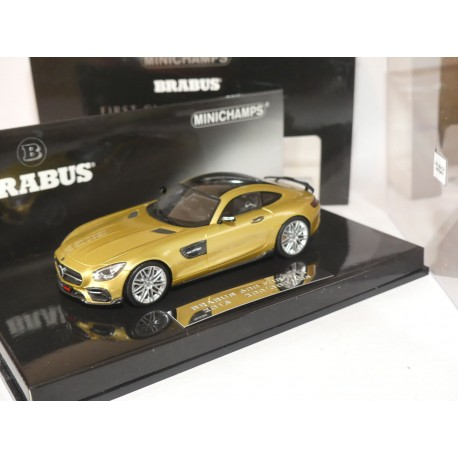 MERCEDES BRABUS 600 FOR GT S 2016 Gold MINICHAMPS 1:43