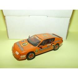 RENAULT ALPINE GTA V6 EUROPA CUP 1986 KETTERER KIT MINI RACING 0315 1:43 Jagermeister