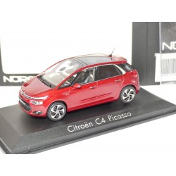 CITROEN C4 PICASSO II Phase 1 2013 Rouge Ruby NOREV 1:43