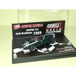 COOPER T51 GP DE MONACO 1959 J. BRABHAM BRUMM R278 1:43