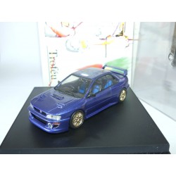 BARU IMPREZA WRC ROADCAR Bleu TROFEU 1101B 1:43