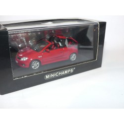 OPEL TIGRA TWIN TOP Rouge MINICHAMPS 1:43