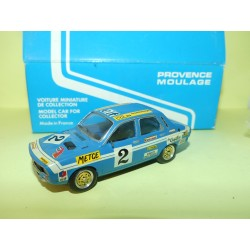RENAULT 12 GORDINI COUPE 1972 METGE PROVENCE MOULAGE 1:43