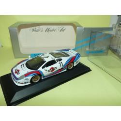 JAGUAR XJ 220 RACING GT CUP ITALIA MINICHAMPS 1:43