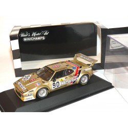 BMW M1 N°90 LE MANS 1983 MINICHAMPS 1:43