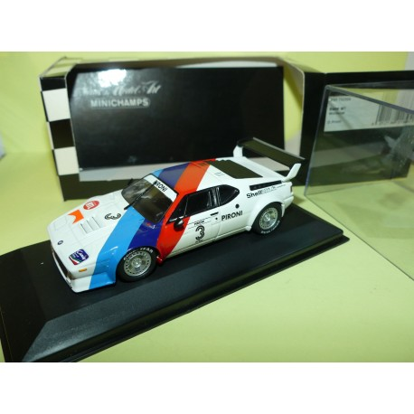 BMW M1 WORKSCAR 1979 D. PIRONI MINICHAMPS 1:43