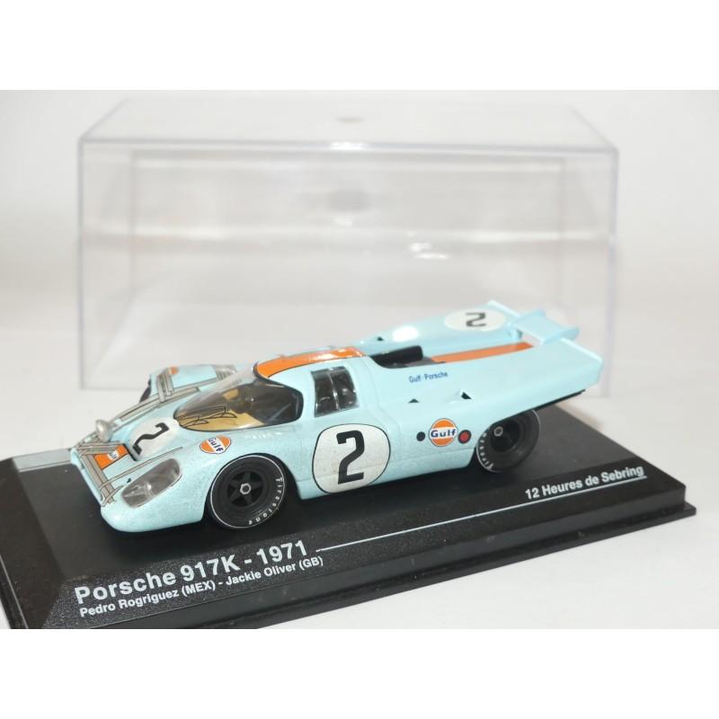 PORSCHE 917 K N°2 12 H DE SEBRING 1971 ALTAYA 1:43 modèle accidenté