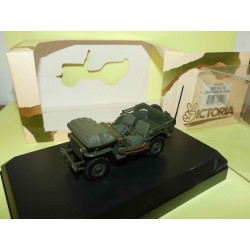 JEEP WILLYS LIBERATION DE PARIS MILITAIRE VICTORIA R002 1:43