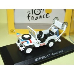 JEEP WILLYS ASSITANCE TOUR DE FRANCE NOREV 1:43