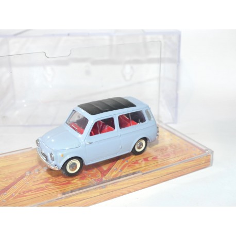FIAT 500 JARDINIERE Bleu NOREV 1:43 défaut