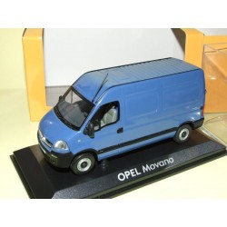 OPEL MOVANO TOLEE Phase II Bleu NOREV Utilitaire
