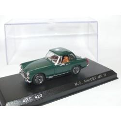 MG MIDGET MK IV AVEC HARFD TOP 1969 Vert DETAILCARS 423 1:43