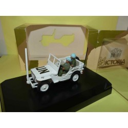 JEEP WILLYS UNITED NATIONS LEBANNON 1978 VICTORIA R023 1:43