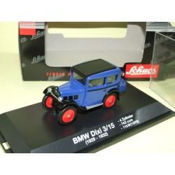 BMW DIXI 3/15 1929-1932 Bleu SCHUCO