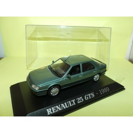 RENAULT 25 GTS Phase 2 1989 Vert UNIVERSAL HOBBIES Collection M6 1:43