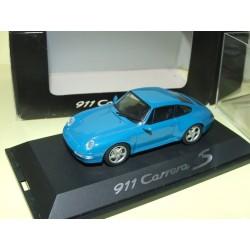 PORSCHE 911 CARRERA 4S Bleu SCHUCO