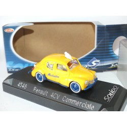 RENAULT 4CV COMMERCIAL MICHELIN SOLIDO 1:43