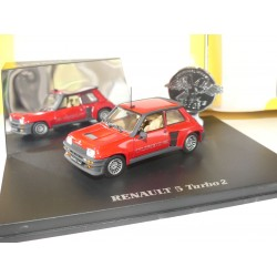 RENAULT 5 TURBO 2 Rouge UNIVERSAL HOBBIES 1:43