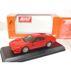 FERRARI 308 GTB 1975 Rouge BEST 9199 1:43