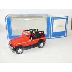 JEEP WRANGLER 1995 Rouge AHC PROMOTION 1:43
