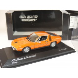 ALFA ROMEO MONTREAL 1973 Orange MINICHAMPS  1:43
