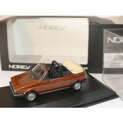 VW GOLF I CABRIOLET Marron NOREV 1:43