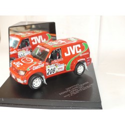 TOYOTA LAND CRUISER LONG N°208 RALLYE PARIS DAKAR 1998 VITESSE SKM99067 1:43