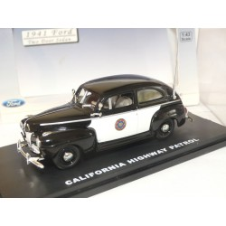 FORD CALIFORNIA 1941 POLICE HIGHWAY PATROL FIRST RESPONSE 1:43