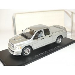 DODGE RAM SRT-10 QUAD CAB 2005 Gris SPARK S0861 1:43