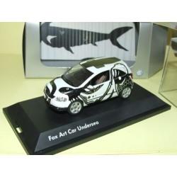 VW FOX ART CAR UNDERSEA  SCHUCO 1:43