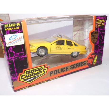 CHEVROLET TAXI NYC ROAD CHAMPS 1:43
