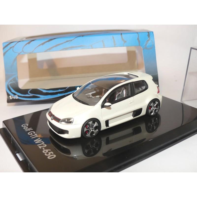 VW GOLF GTi W12-650 Wooerterseetreffen 2007 Blanc PROVENCE MOULAGE 1:43