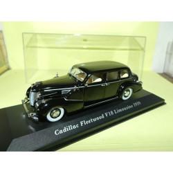 CADILLAC FLEETWOOD V18 LIMOUSINE 1939 Noir ALTAYA 1:43