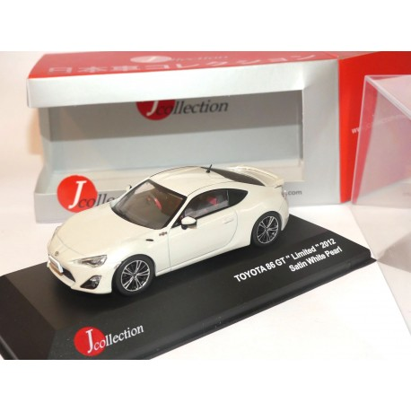 TOYOTA 86 GT Limited 2012 Blanc  J-COLLECTION JC252 1:43